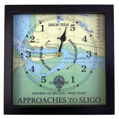 APPROACHES TO SLIGO TIDE CLOCK HORIZONTAL