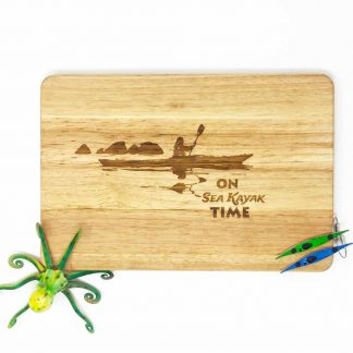 Sea kayaker chopping board