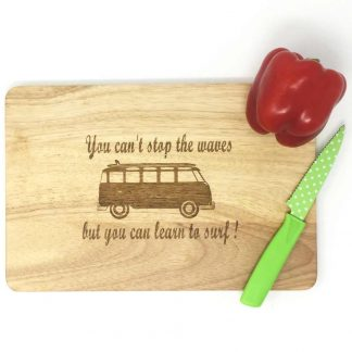 VW Camper cutting board
