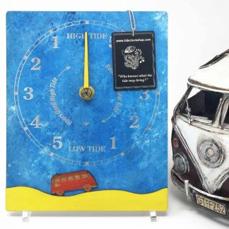 VW camper tide clock