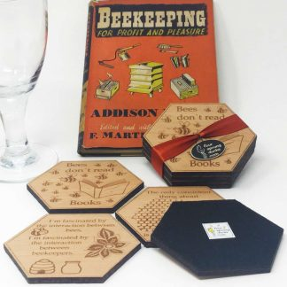 Bee Keeping Coasters