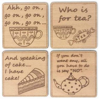 Mrs Doyle Coasters