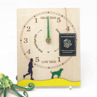 Dog walker tide clock