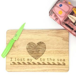 Sea theme chopping board